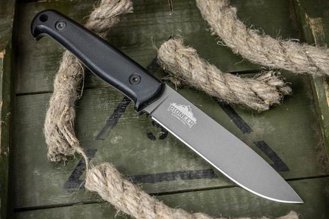 Туристический нож Pioneer Sleipner TacWash G10, черный