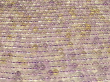 Нить бусин из аметрина, шар гладкий 4мм