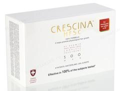 Комплекс - Лосьон для стимуляции роста волос для мужчин №10 + Лосьон против выпадения волос №10, 500  (Labo | Crescina Re-Growth HFSC 100% + Crescina Anti-Hair Loss HSSC 500), 10 х 3,5 мл + 10 х 3,5 мл