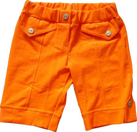 Basia Бриджи для девочки 12-714-017 оранжевые