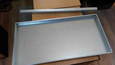 Секция для продления стеллажа глубина 1000 мм