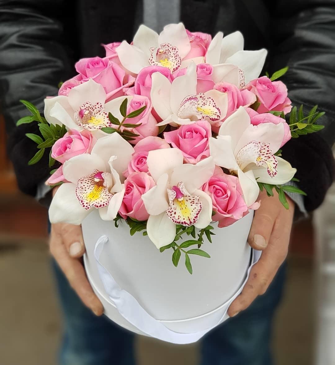 Уход за букетом из орхидей