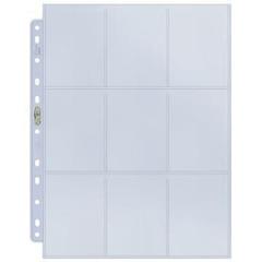Лист для папки на кольцах Silver 9-Pocket Pages (11 Hole) Display