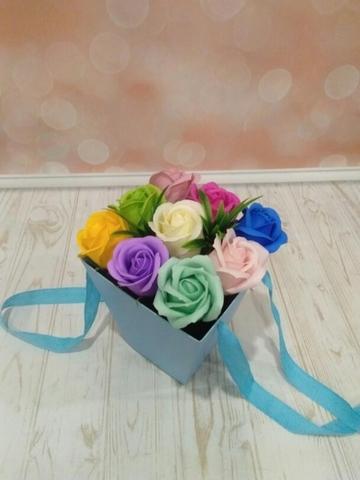 Фотофон виниловый «Розовые блики» №059