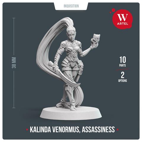 Kalindra Venormus, Assassiness1
