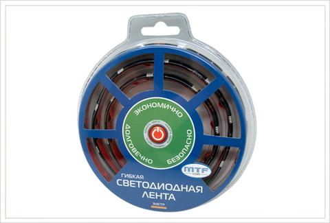 Светодиодная лента гибкая MTF Light 1M2A305WW 1м (белый 5000К)