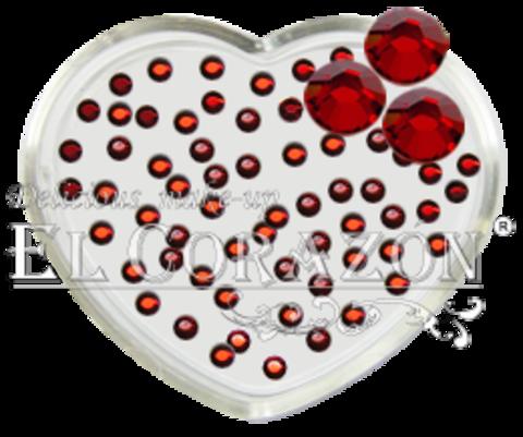 ЭК Стразы стеклянные 100шт/104  SS6-светлый красный