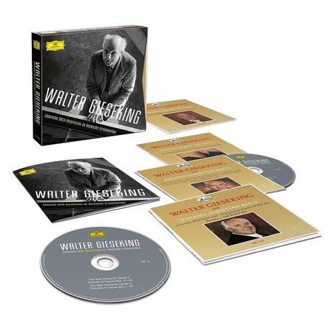 Walter Gieseking / The Complete Bach Recordings On Deutsche Grammophon (7CD)