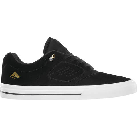 Кеды EMERICA Reynolds 3 G6 (Black/White/Gold)