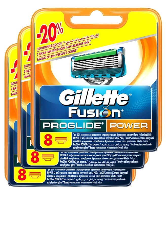 Proglide Power комплект (3х8) 24шт. (Цена за 1 пачку 1570р.)