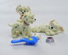 101 далматинец набор из трех щенков в сумочке