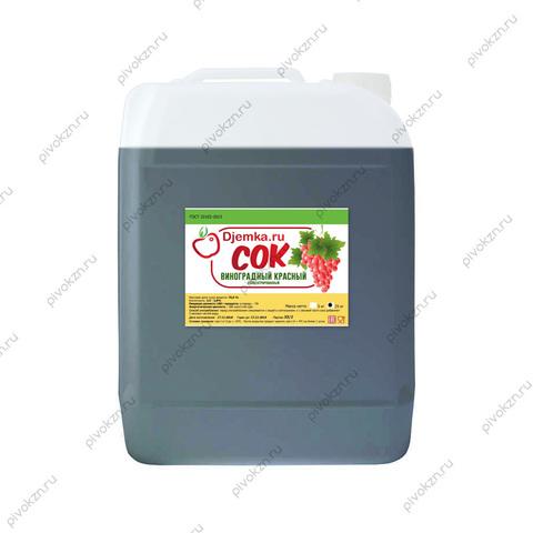 Концентрированный сок «Виноград красный» 25 кг