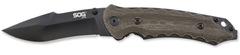 Складной нож SOG Мод. KIKU SMALL BLACK 97158