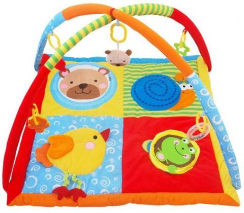 Игровой коврик для новорожденных  Baby Mix Животный Мир