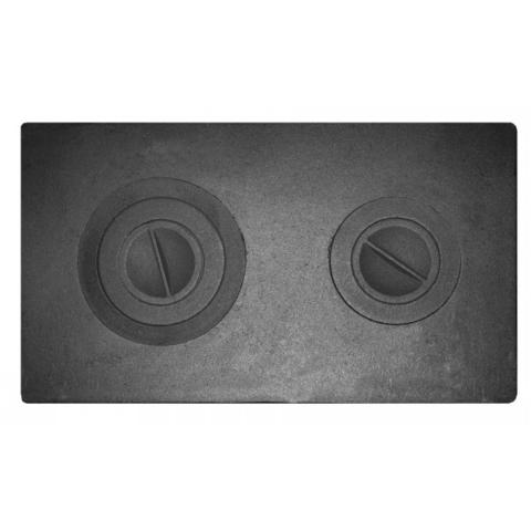 Плита печная П2-3 Литком 710×410×12мм цельная