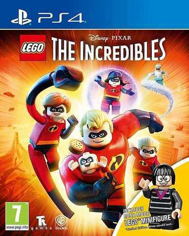 PS4 LEGO The Incredibles - Minifigure Edition (русские субтитры)