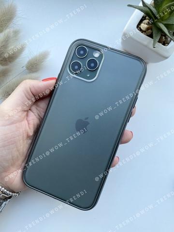 Чехол iPhone 11 Shining Matte Case /green/