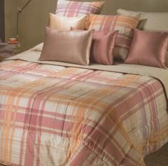 Постельное белье 2 спальное евро Caleffi Finlandia коричневое
