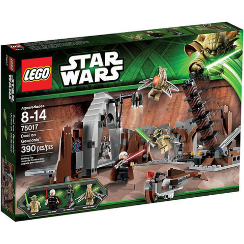 LEGO Star Wars: Дуэль на планете Джеонозис 75017