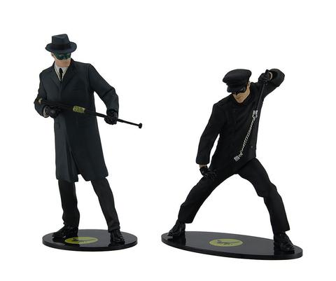 The Green Hornet and Kato/ Detailed Collector Figures || Зеленый Шершень и Като