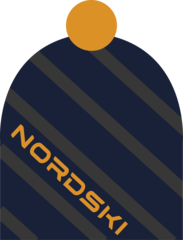 Лыжная шапка Nordski Line Dark Blue