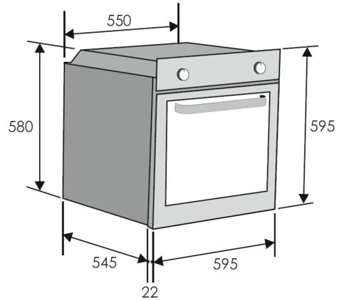 Духовой шкаф Candy FCS 605 X/E