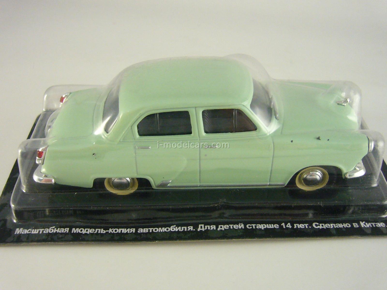 GAZ-M21I Volga light green 1:43 DeAgostini Auto Legends USSR #6