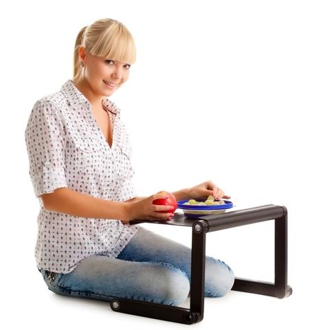 Столик для ноутбука Т9 используется в качестве подставки для ноутбу...