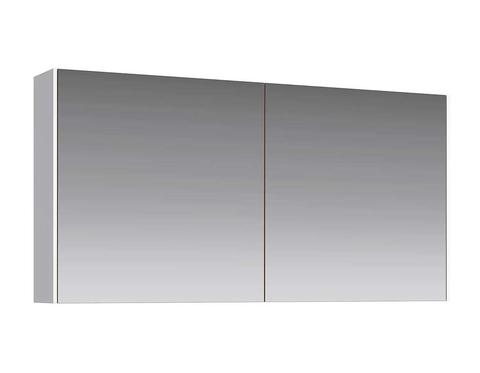 Зеркальный шкаф Mobi 120 бетон светлый