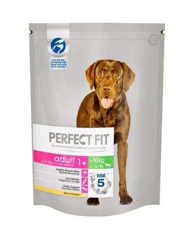 Perfect Fit Adult для взрослых собак средних и крупных пород (с курицей) 800 г