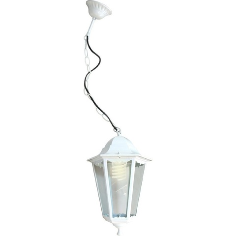 Светильник садово-парковый, 60W 230V E27 белый, 6105 (Feron)