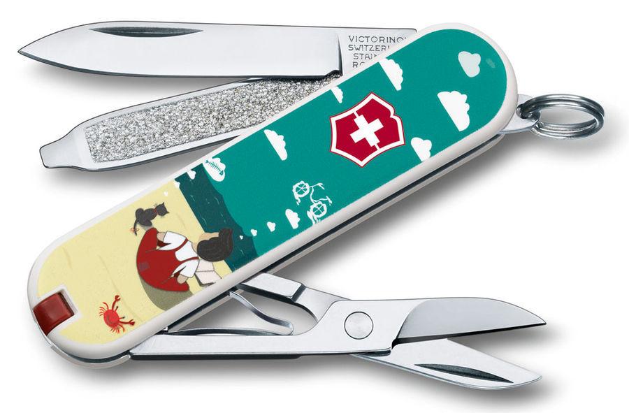 "Нож-брелок Victorinox Classic LE 2016, 58 мм, 7 функ, ""Dream Big"" (0.6223.L1606)"
