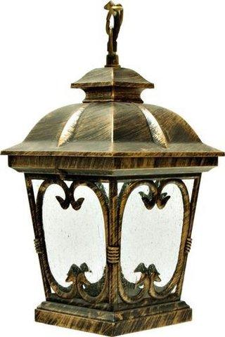 Светильник садово-парковый, 100W 230V E27 черное золото, PL133 (Feron)
