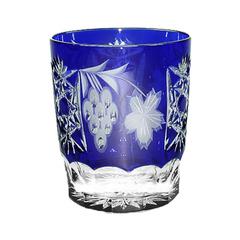 Стакан низкий 390мл Ajka Crystal Grape синий