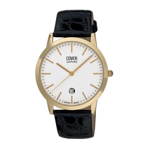 Купить Мужские наручные швейцарские часы Cover Co123.PL2LBK по доступной цене