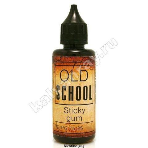Жидкость OLD SCHOOL - Sticky Gum 3 мг никотина