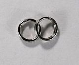 Кольцо двойное, 5 мм, покрытие - никель, 5 шт.
