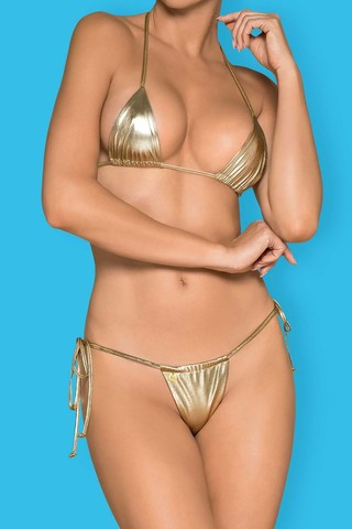 Купальник Bella Vista Micro Bikini Golden eye Obsessive