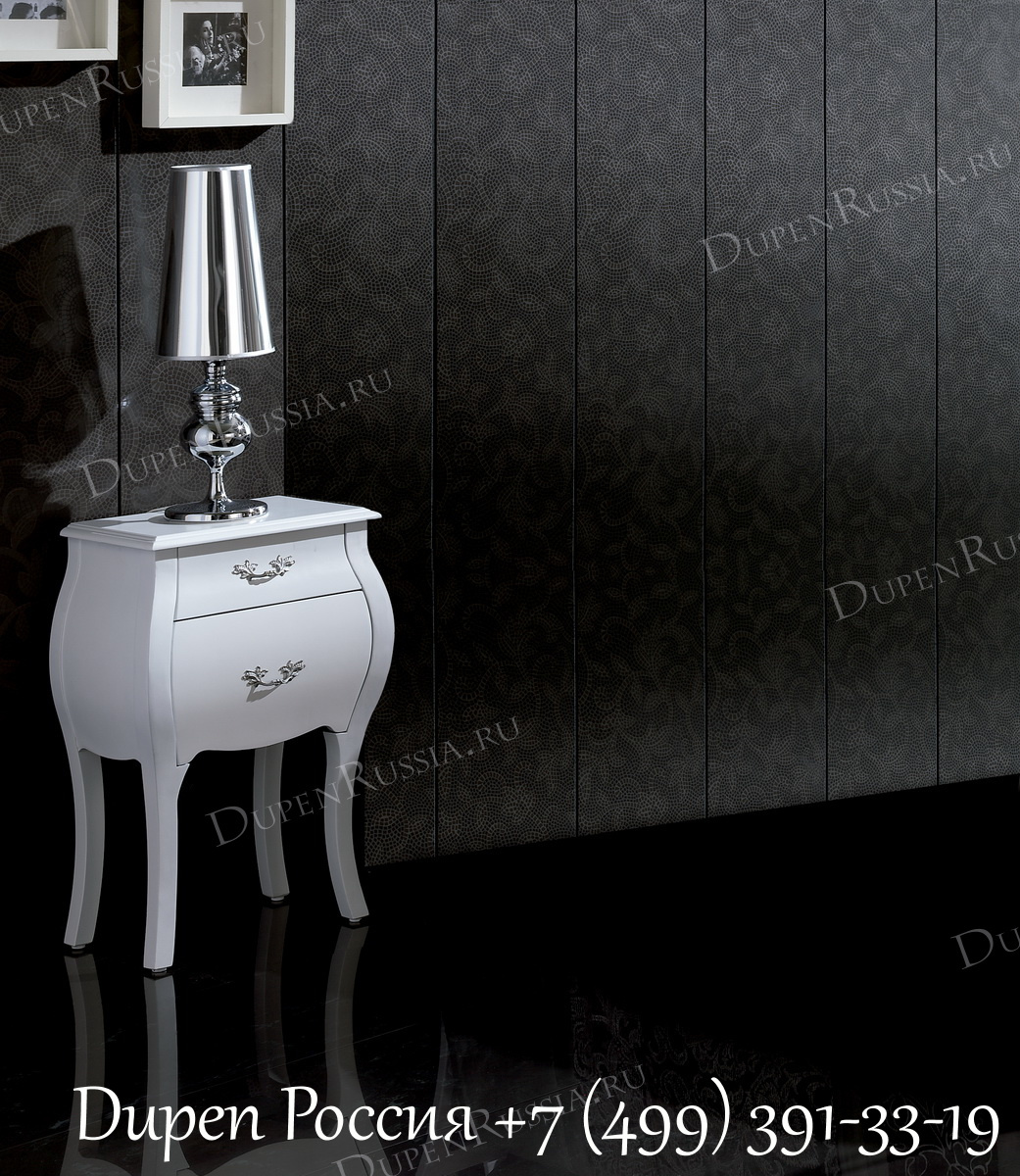 Светильник LT-3130L-C1C и тумбочка DUPEN M-93 белая