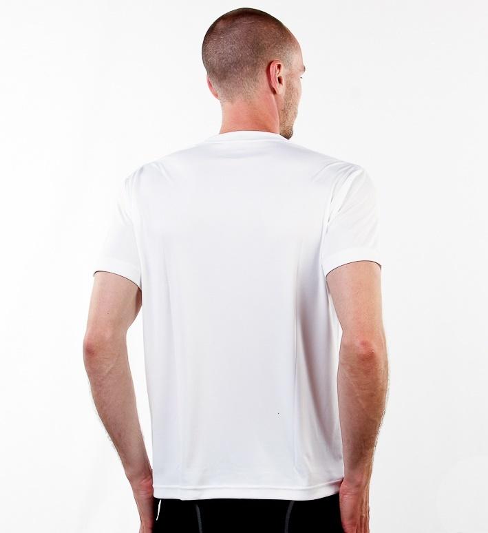 Мужская беговая футболка Craft Active Run (198921-1900) белая