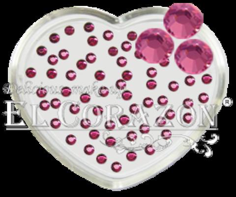 ЭК Стразы стеклянные 100шт/105  SS6-розовый