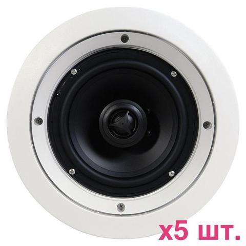 SpeakerCraft CRS8 Zero 5-Pack, акустика встраиваемая
