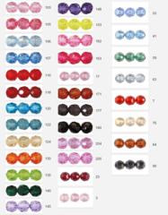 Бусины прозрачные круглые, акрил 10 мм. , (выбрать цвет) 25 гр.