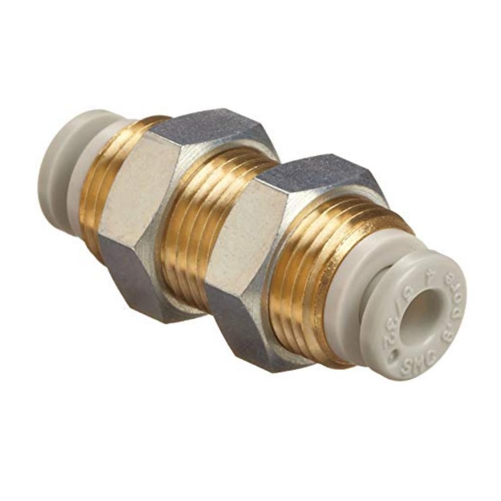 KQ2E10-00A  Соединение для панельного монтажа