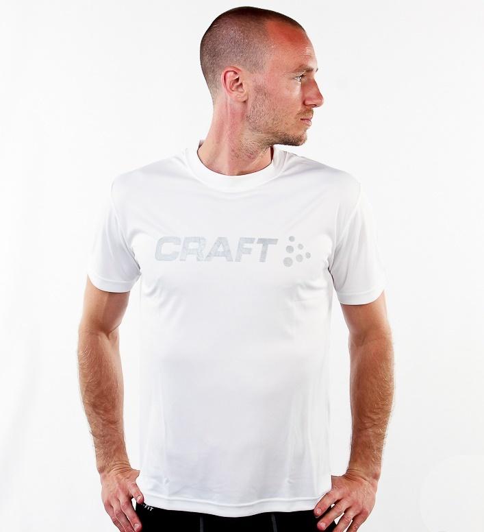 Мужская футболка для бега Craft Active Run (198921-1900) белая
