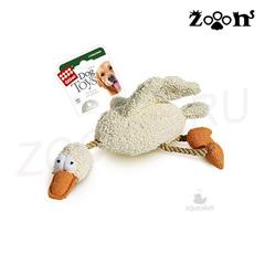 Gigwi игрушка Утка с двумя пищалками 36 см