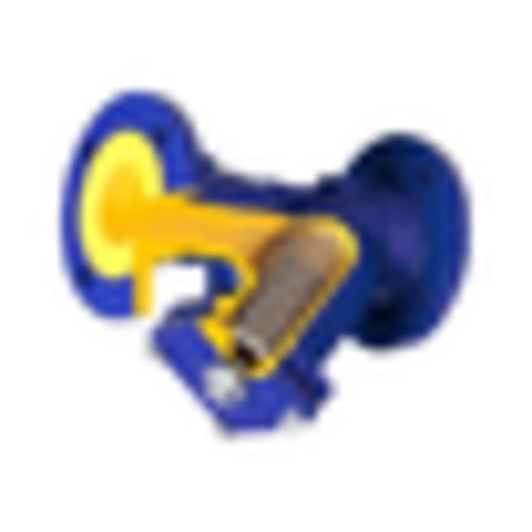 Фильтр магнитный сетчатый Y-образный чугун Ду 25 Ру16 Тмакс=300 oC фл 821А со сливной пробкой Zetkama 821A025C70