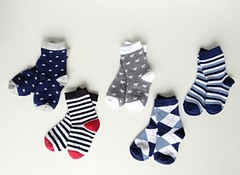 Носки для мальчиков ( 10 пар) арт G08 ( р 23-26)