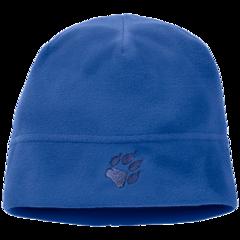 Шапка флисовая детская Jack Wolfskin Real Stuff Kids coastal blue