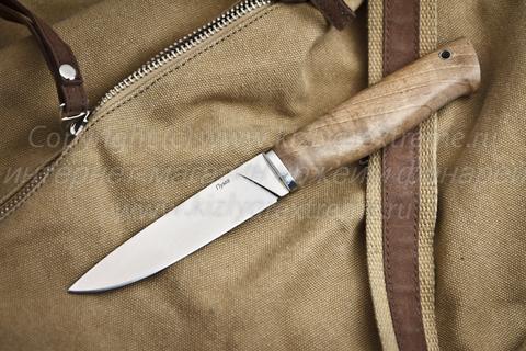 Туристический нож Пума Полированный Орех